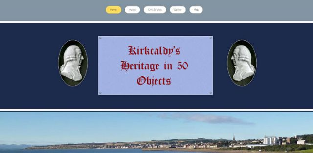 Kirkcaldy in 50 objects